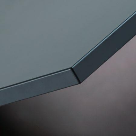 Lackfronten mit antifingerprint Oberfläche