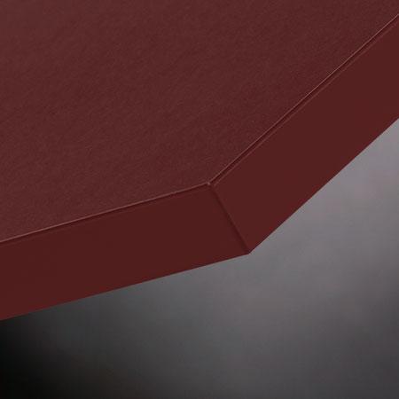 Möbelfronten aus Linoleum burgundy