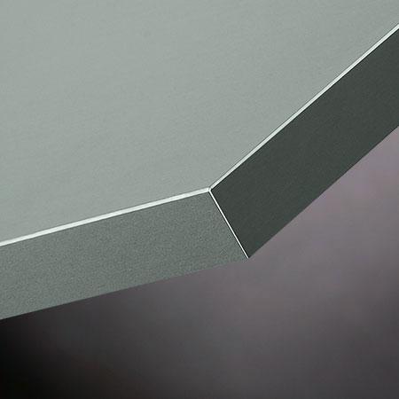 Möbelfronten aus Aluminium D-grey